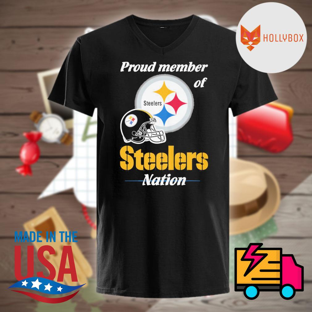Proud member of Steelers nation shirt