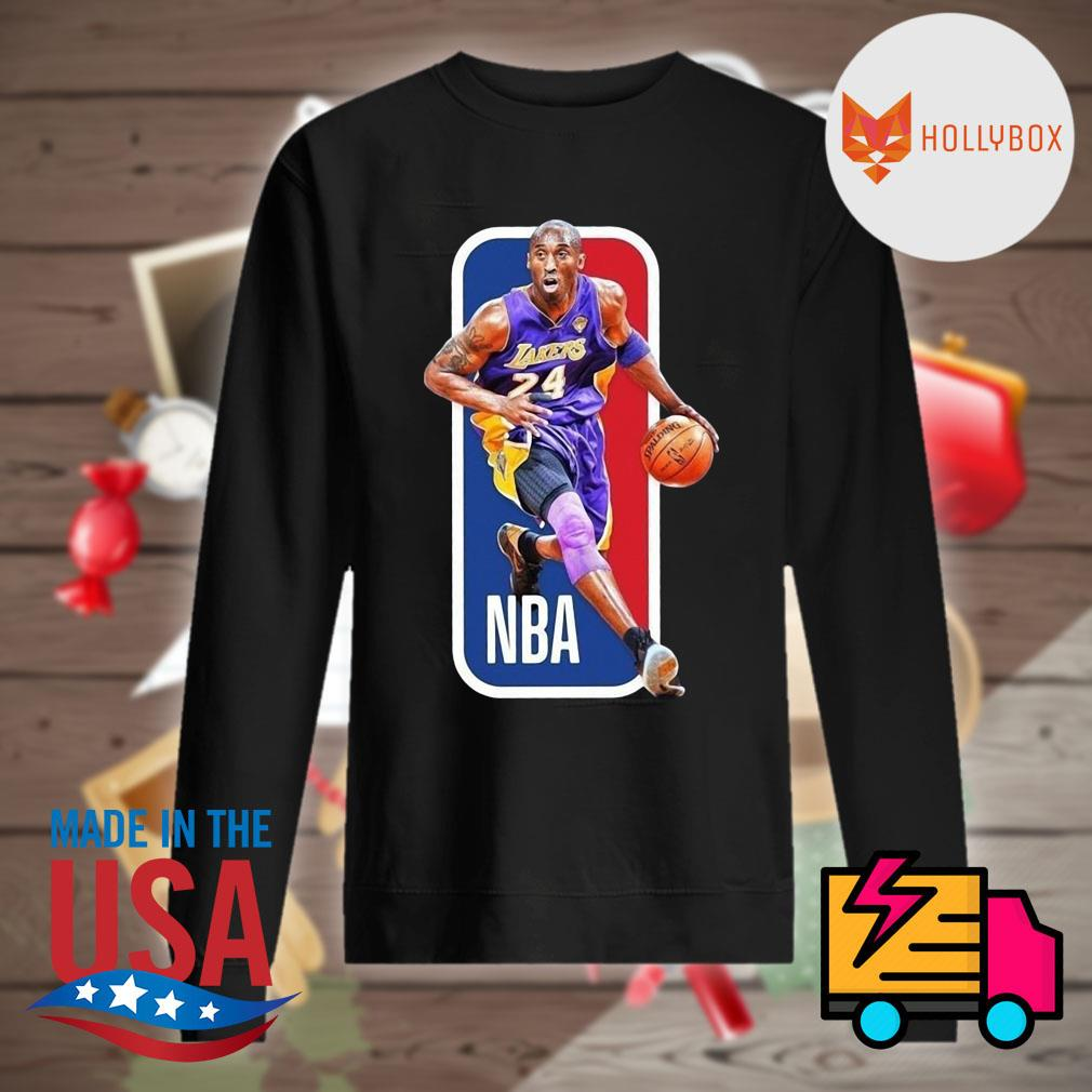 NBA Lakers Kobe Bryant 24 signature s Sweater