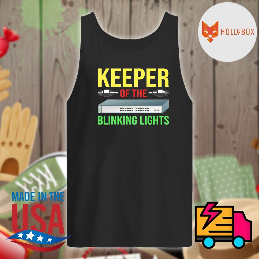 Keeper of the Blinking Lights s Tank-top