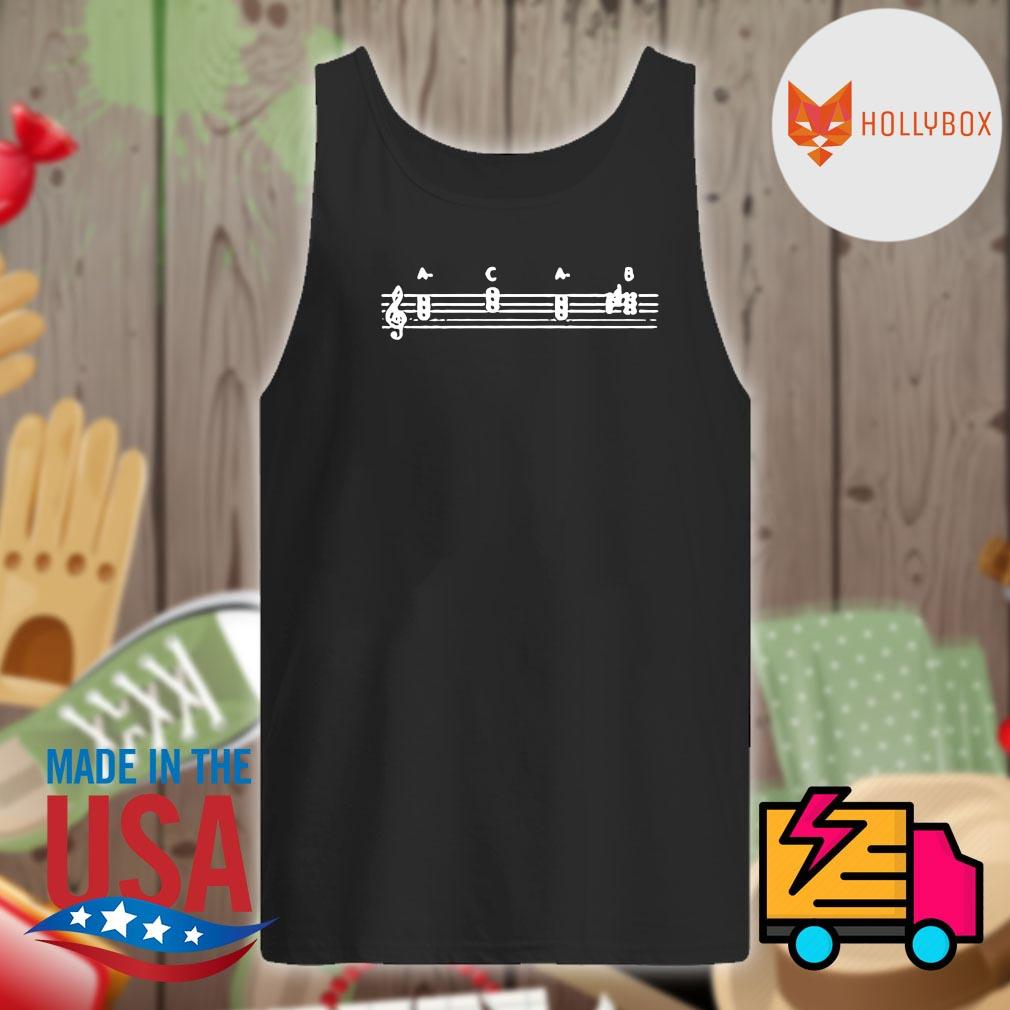 Note music A C A B s Tank-top