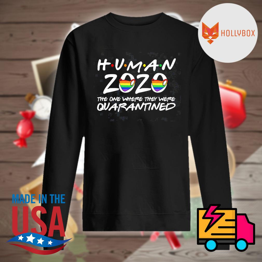 Human 2020 the one where they were quarantined s Sweater