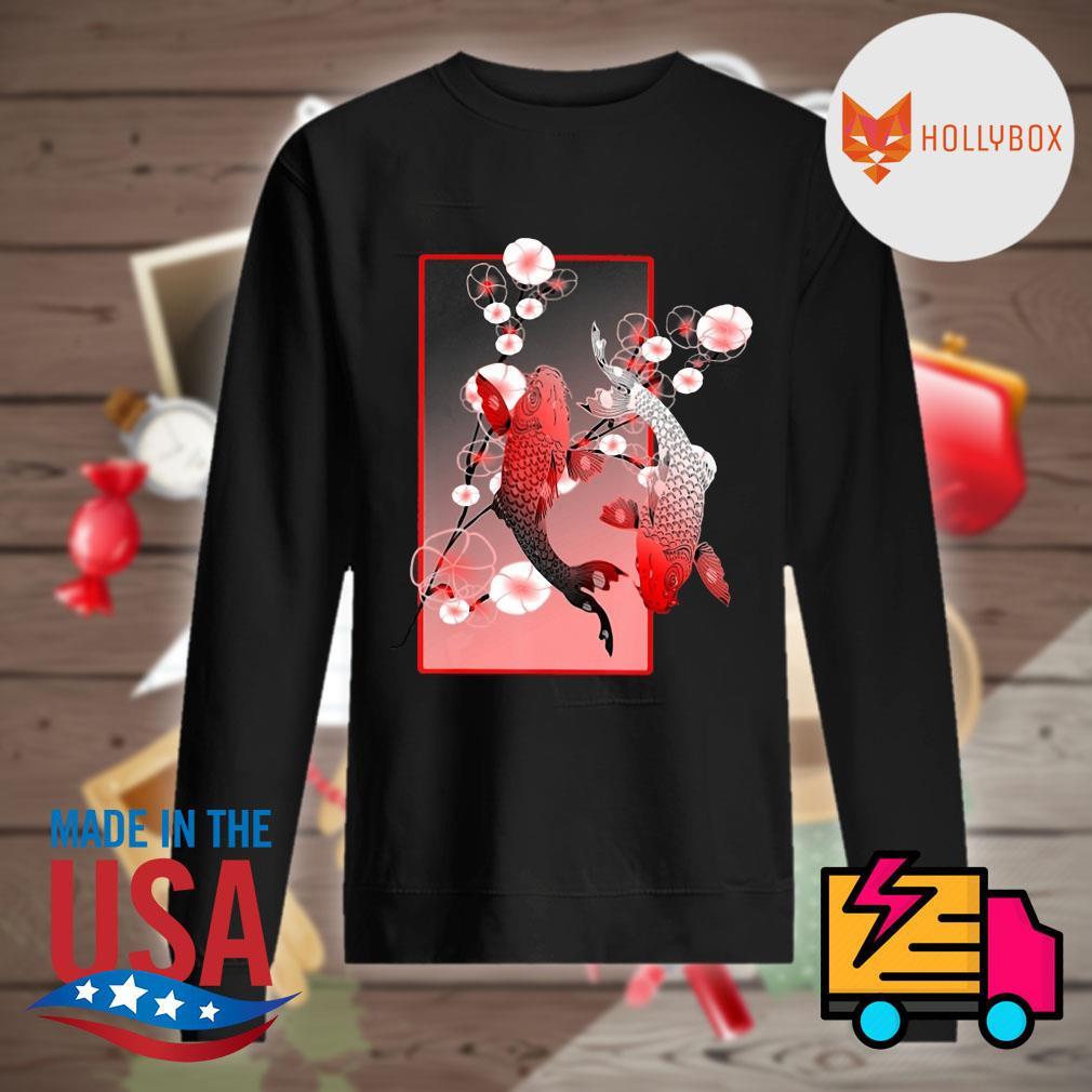 Sakura Cherry Blossom Koi fish s Sweater