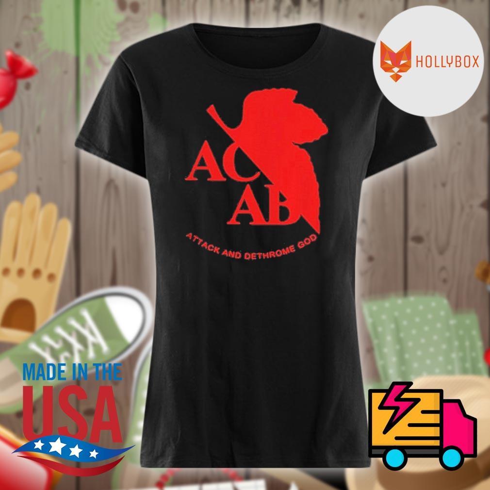 ACAB Attack And Dethrone God Shirt V-neck