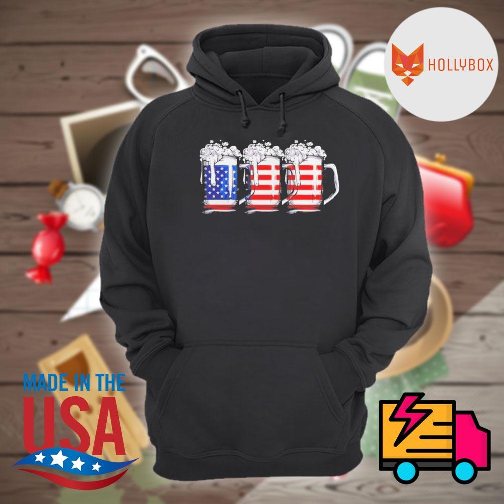 Beer America Happy Independence Day Shirt Hoodie
