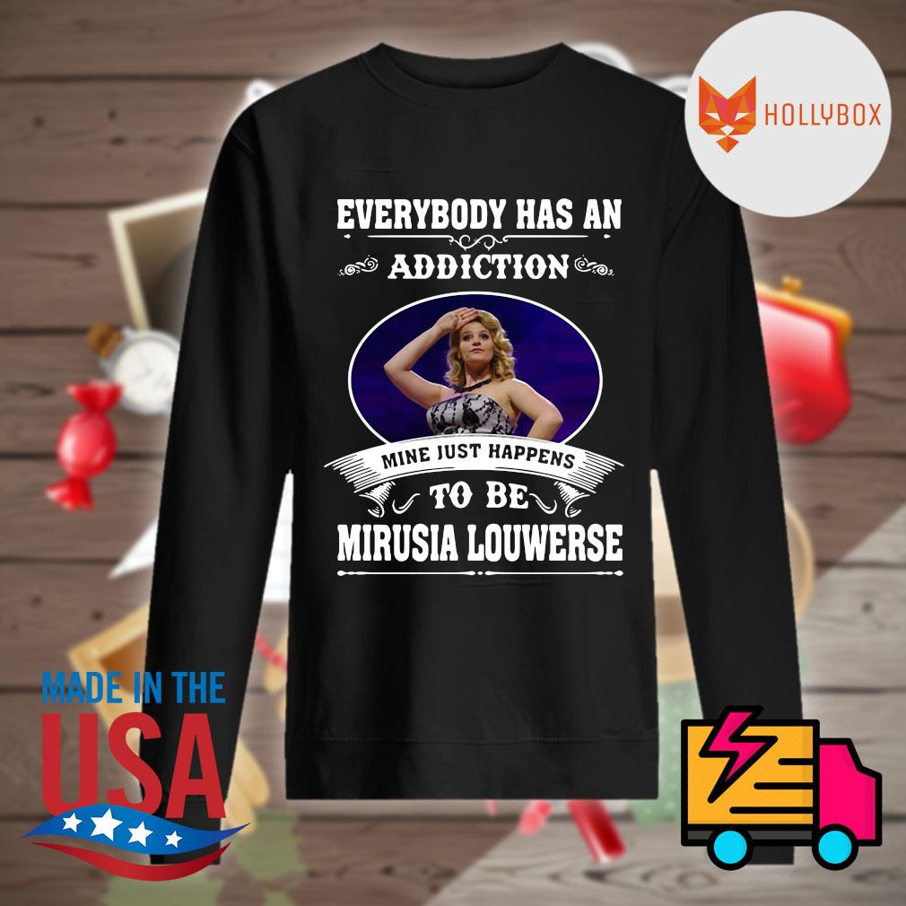 Everybody has an addiction mine just happens to be Mirusia Louwerse s Sweater
