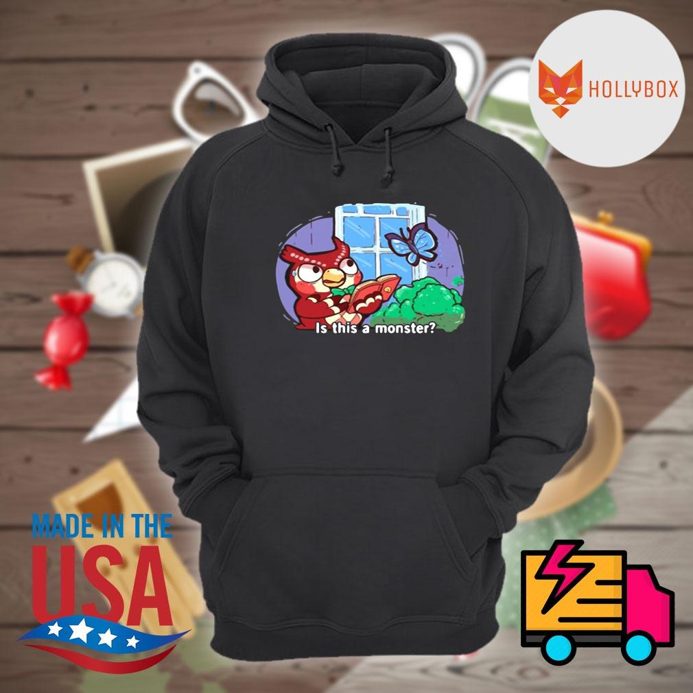 Owl read book and butterfly is this a monster s Hoodie