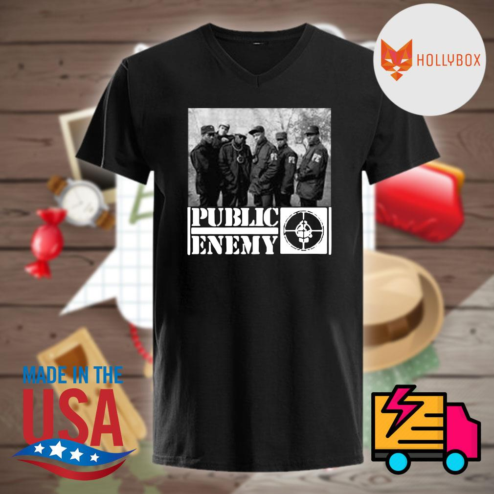 Public enemy band shirt