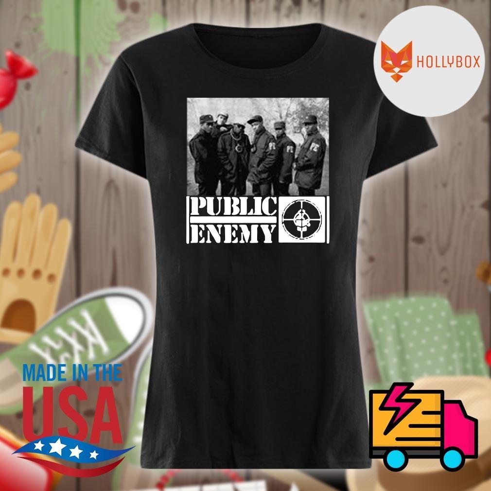 Public enemy band s V-neck