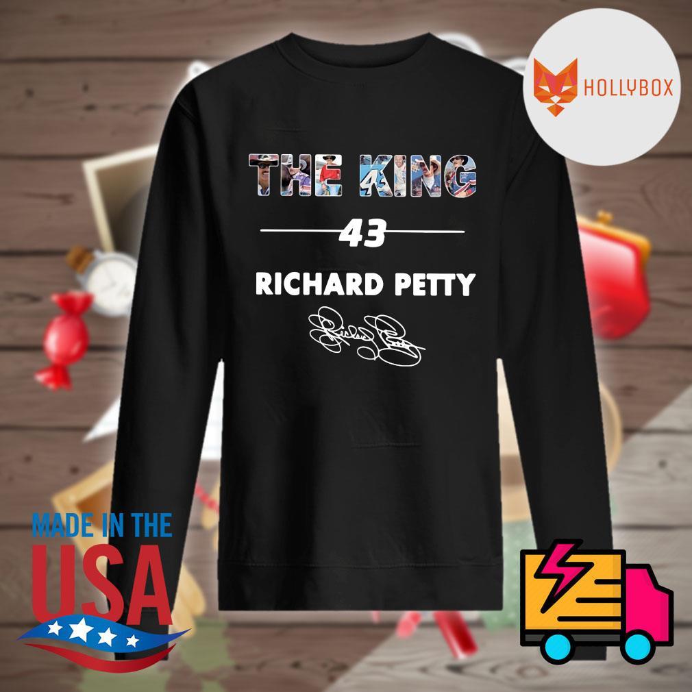 The King 43 Richard petty signature s Sweater