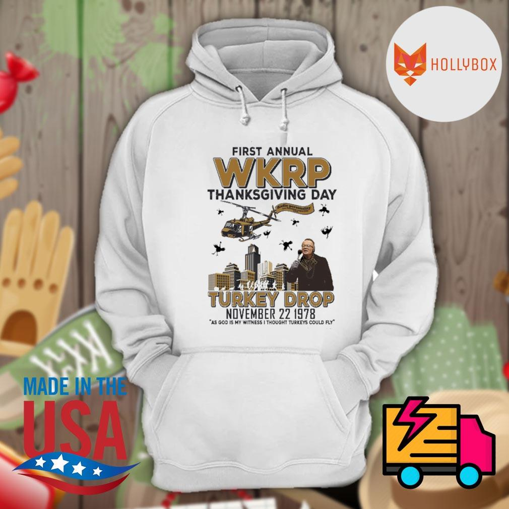 First annual WKRP thanksgiving day Turkey Drop November 22 1978 s Hoodie