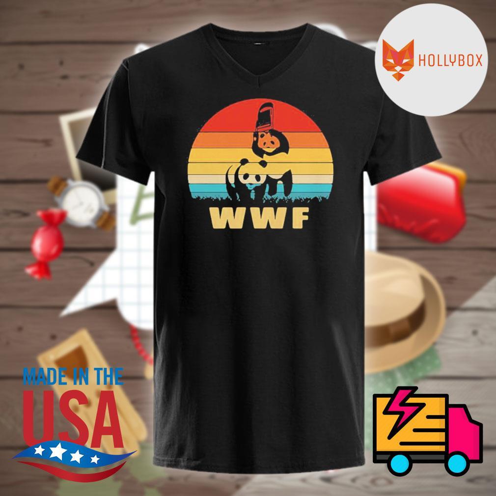 WWF Bear Wrestling vintage shirt