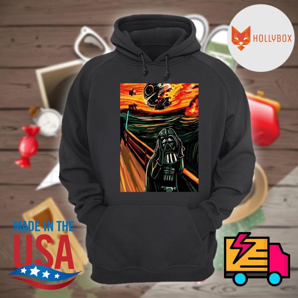 Darth Vader oil paint s Hoodie