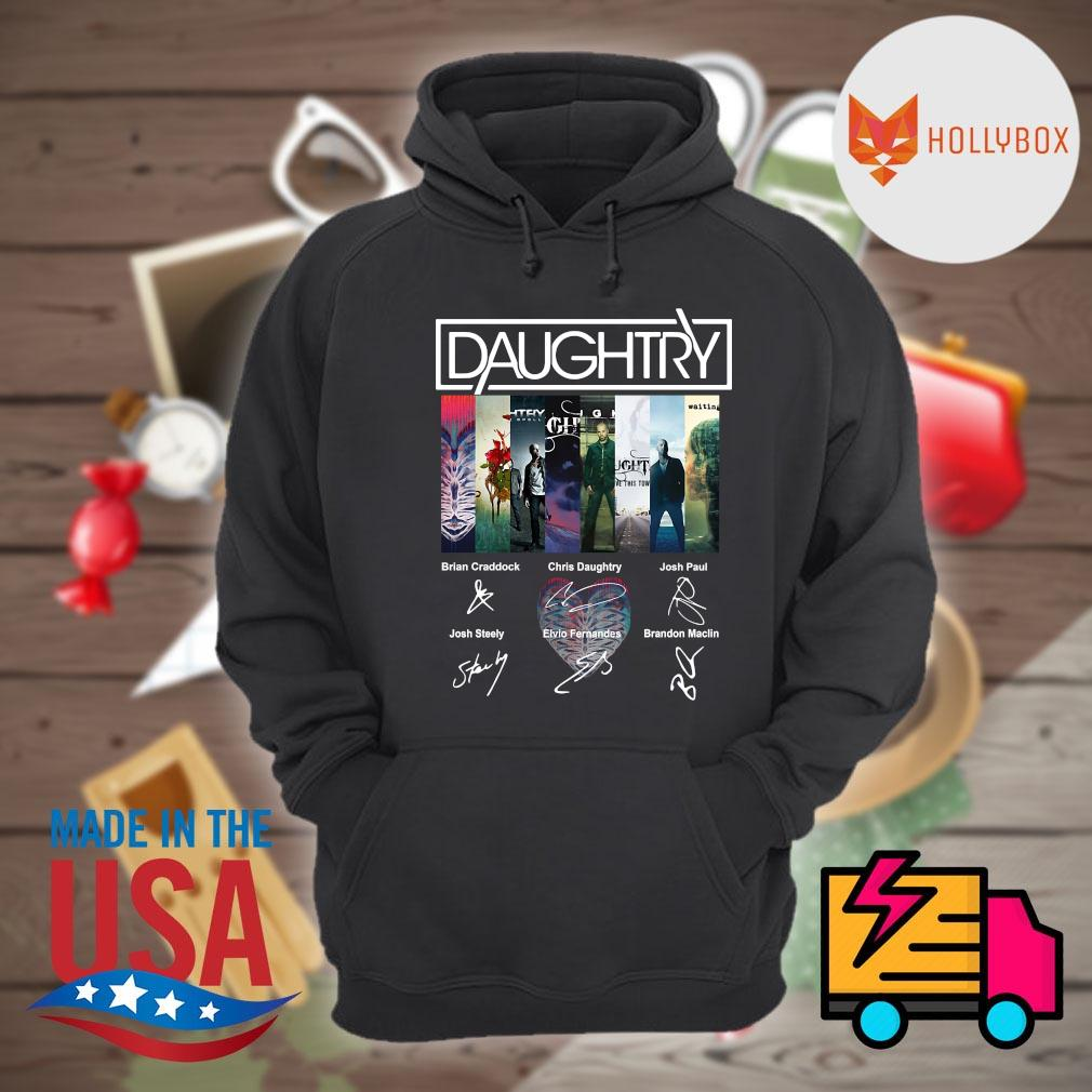 Daughtry Album signatures s Hoodie