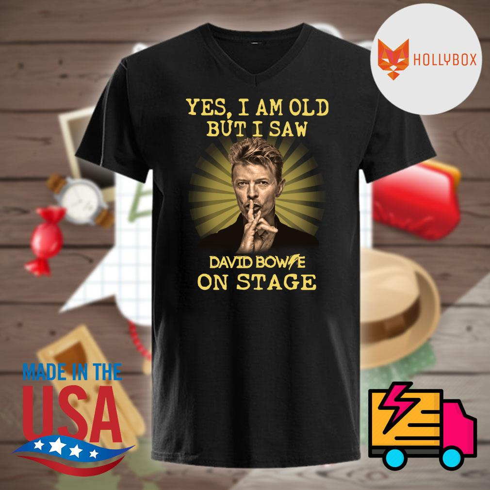 David Bowie yes I am old but I saw one stage shirt