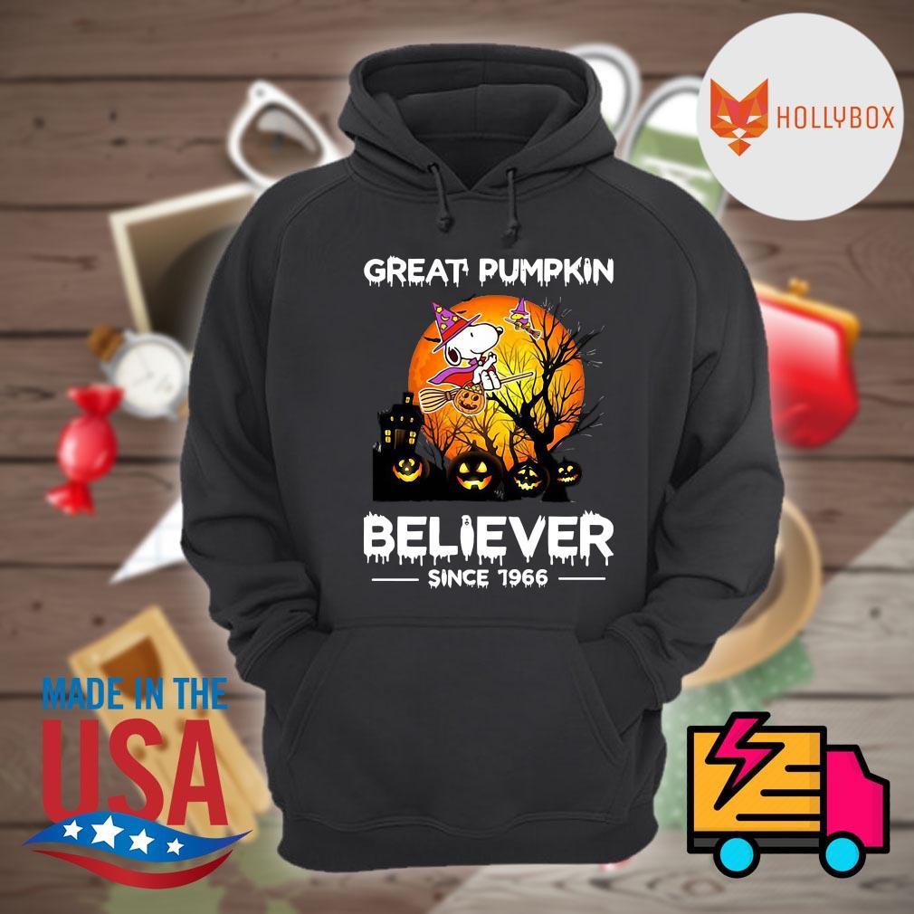 Halloween Great Pumpkin believer since 1966 s Hoodie