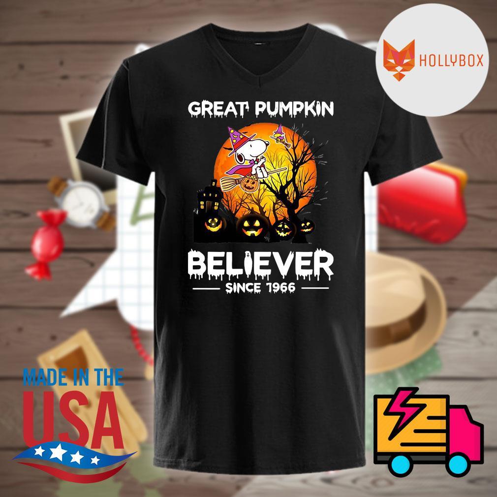 Halloween Great Pumpkin believer since 1966 shirt