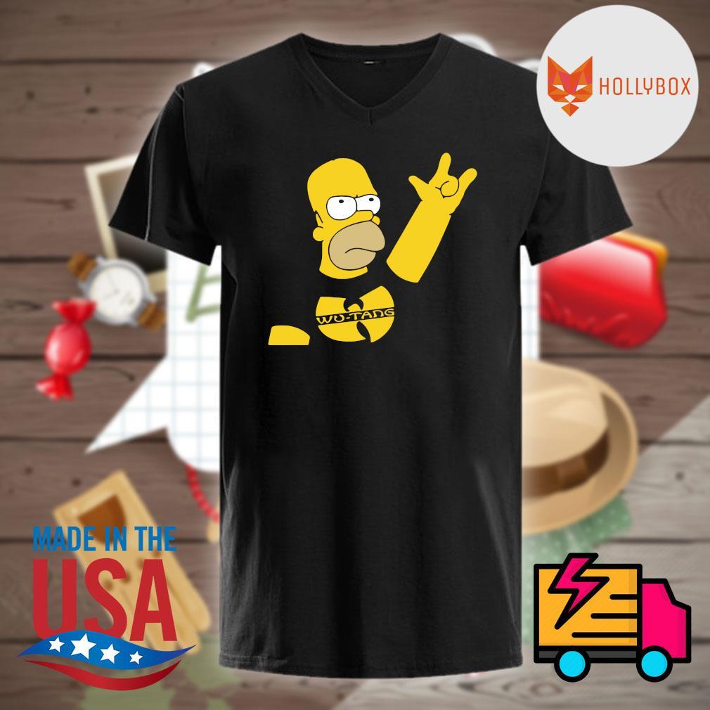 Homer Simpson Wu tang shirt