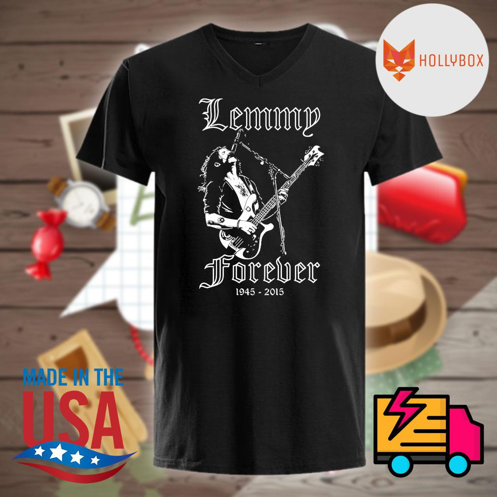 Lemmy Forever 1945 2015 shirt