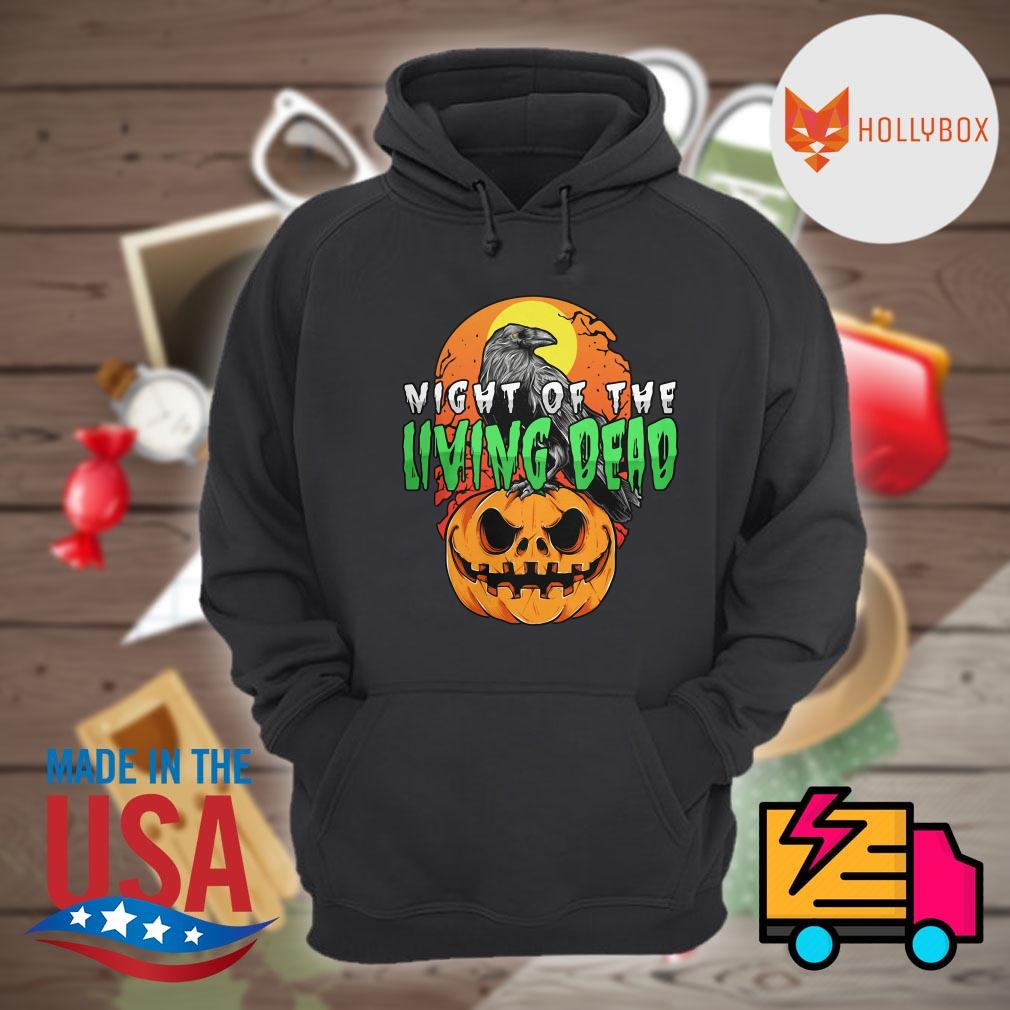 Night of the Living Dead Halloween pumpkin s Hoodie
