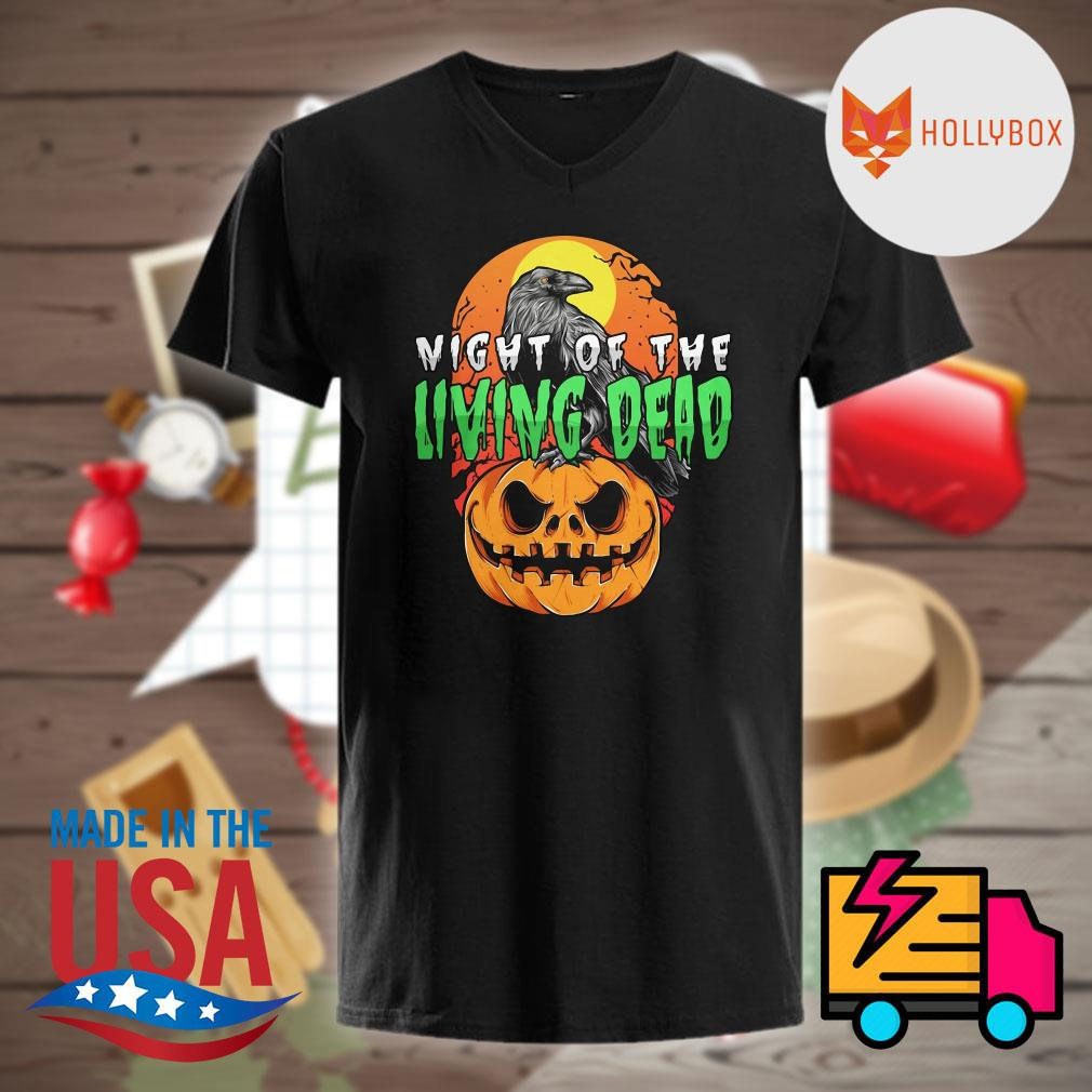 Night of the Living Dead Halloween pumpkin shirt