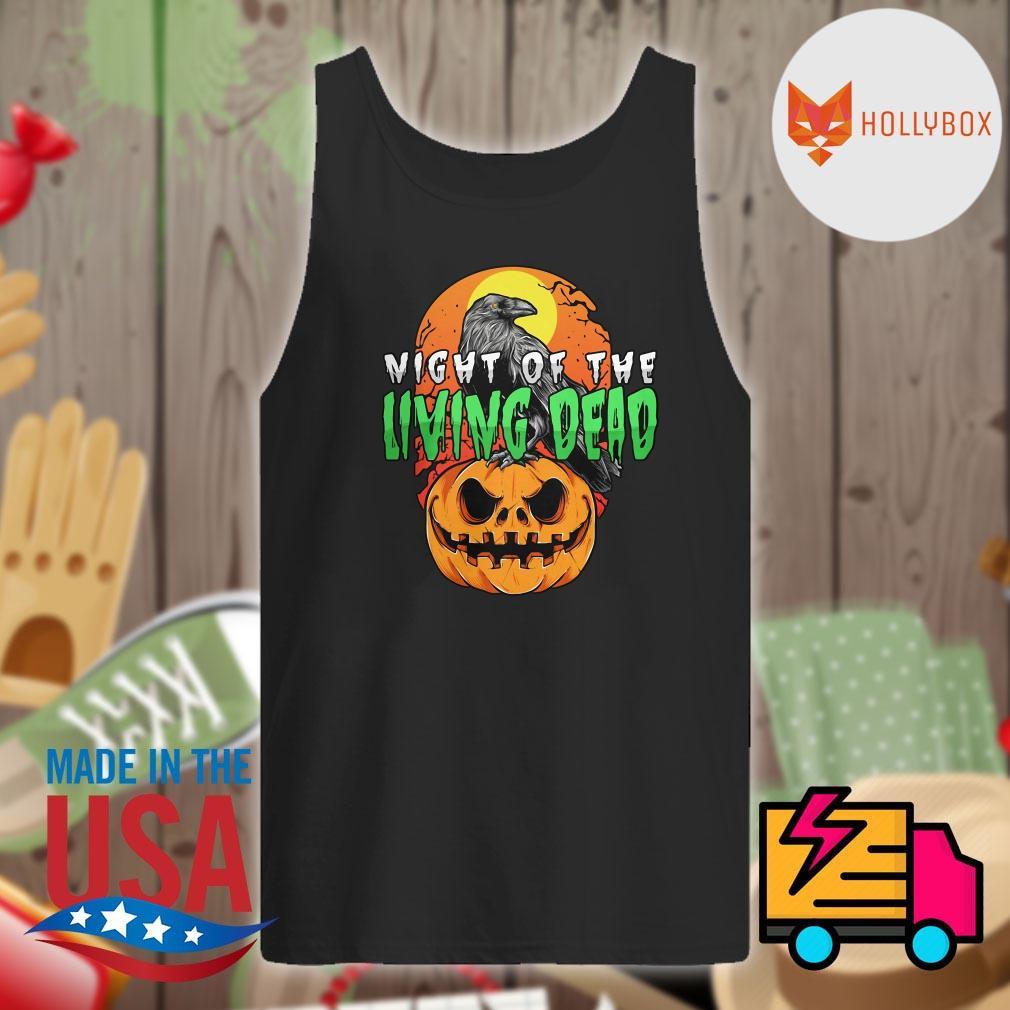 Night of the Living Dead Halloween pumpkin s Tank-top