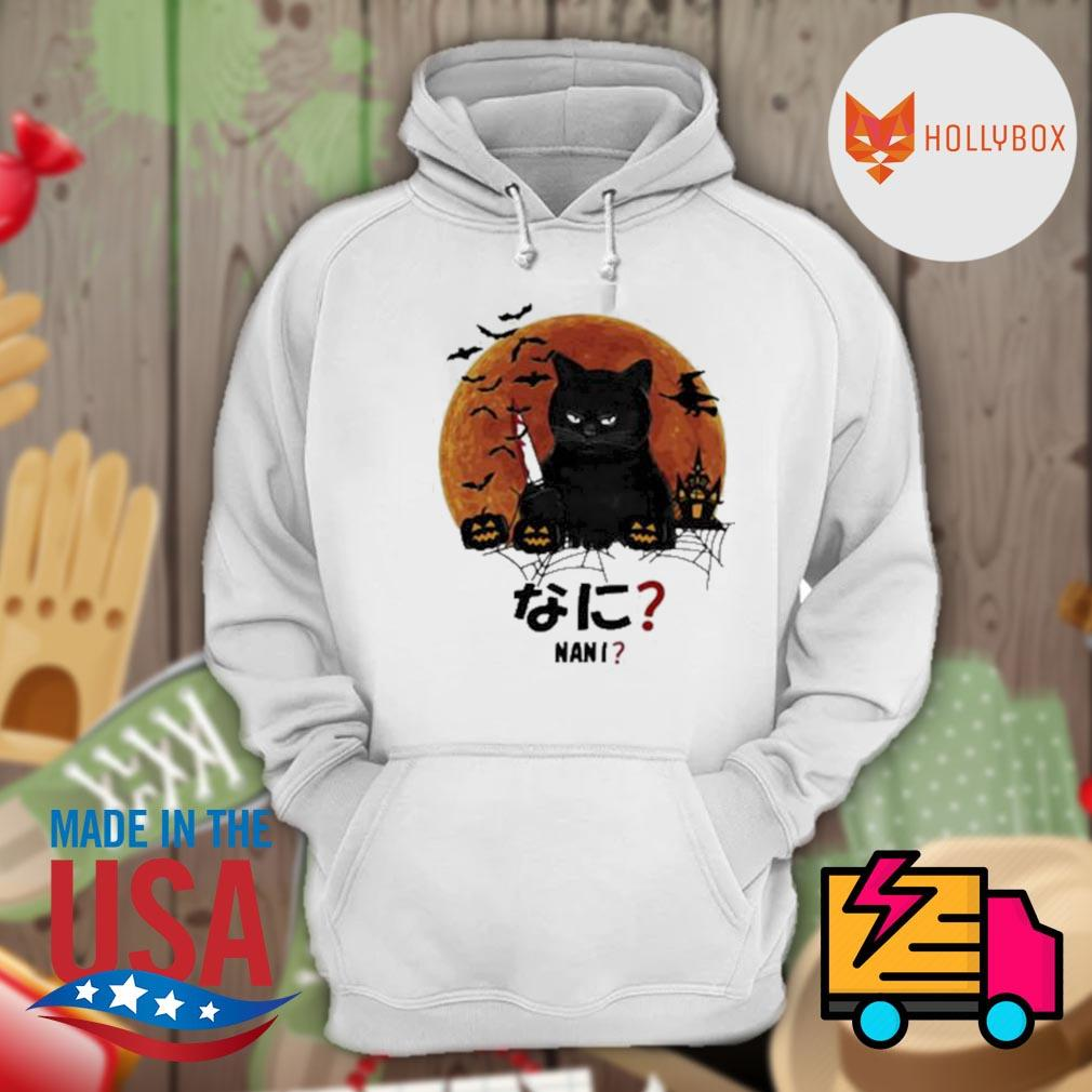 Pretty nani cat killer moon halloween s Hoodie