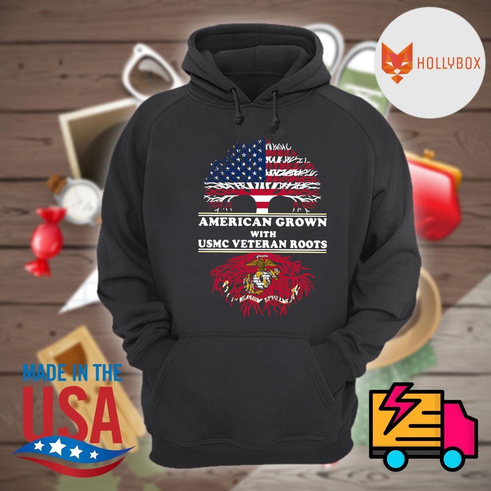 American grown with USMC veteran roots s Hoodie