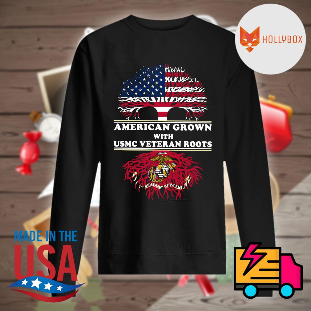 American grown with USMC veteran roots s Sweater