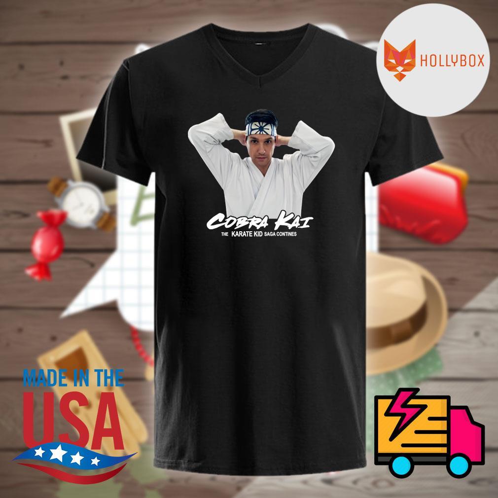 Cobra Kai the Karate Kid saga continues shirt