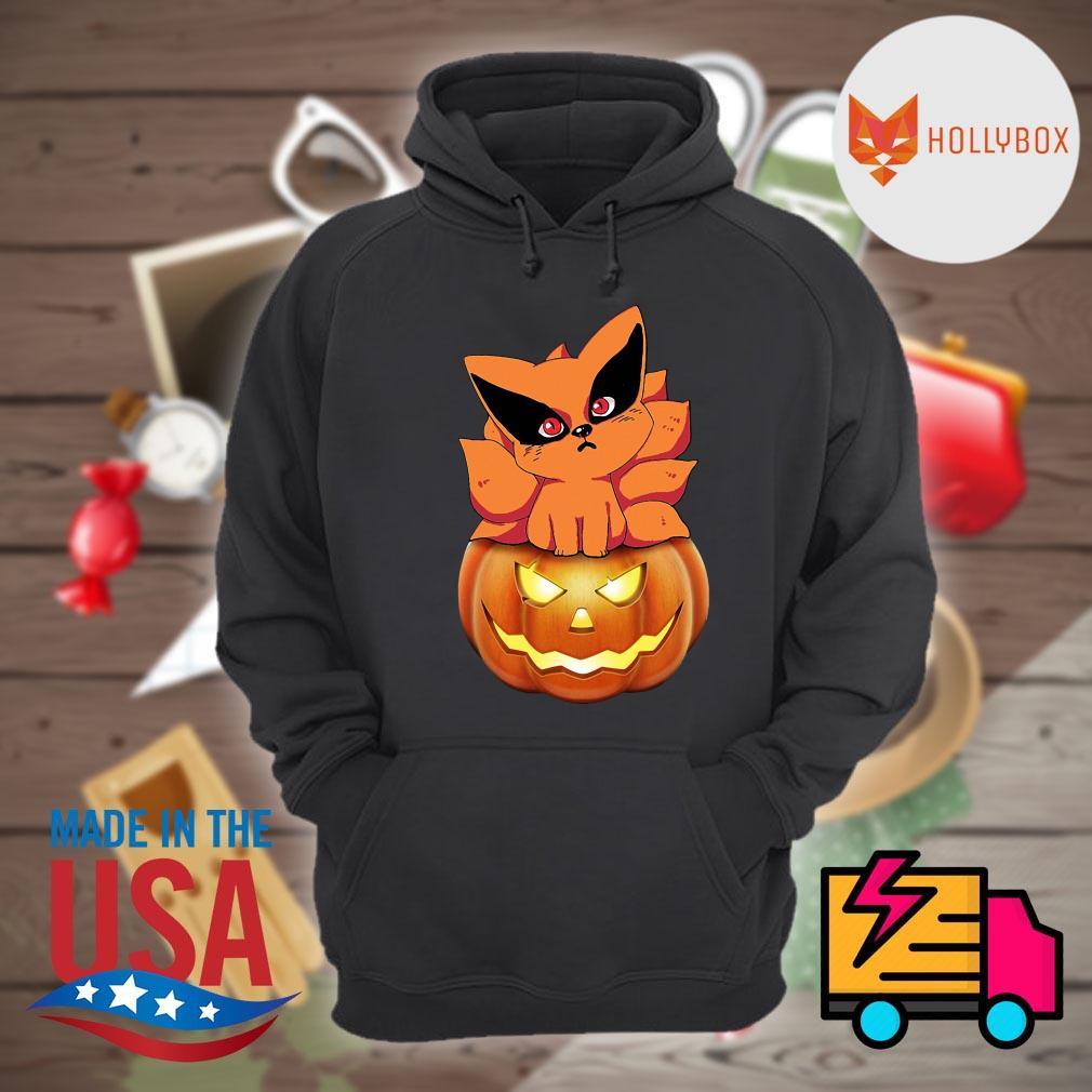 Fox Naruto pumpkin Halloween s Hoodie
