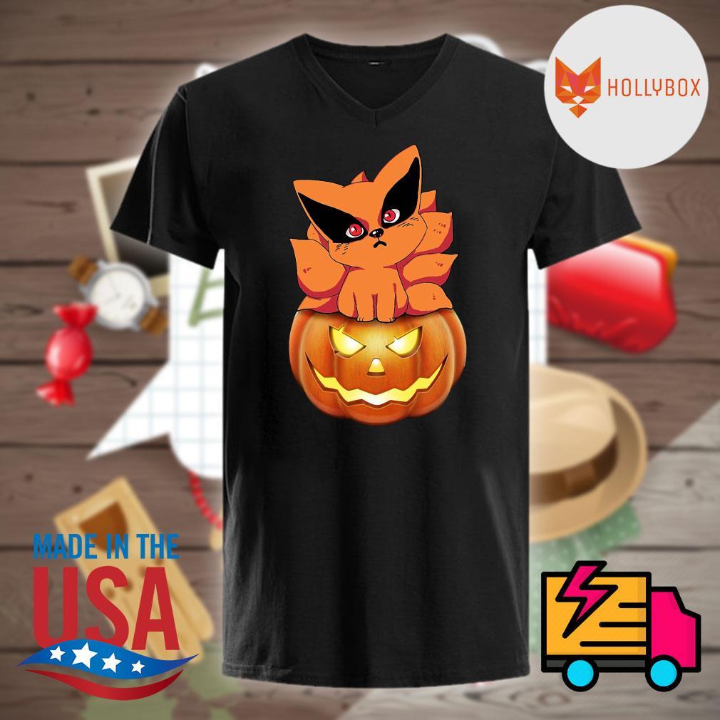 Fox Naruto pumpkin Halloween shirt