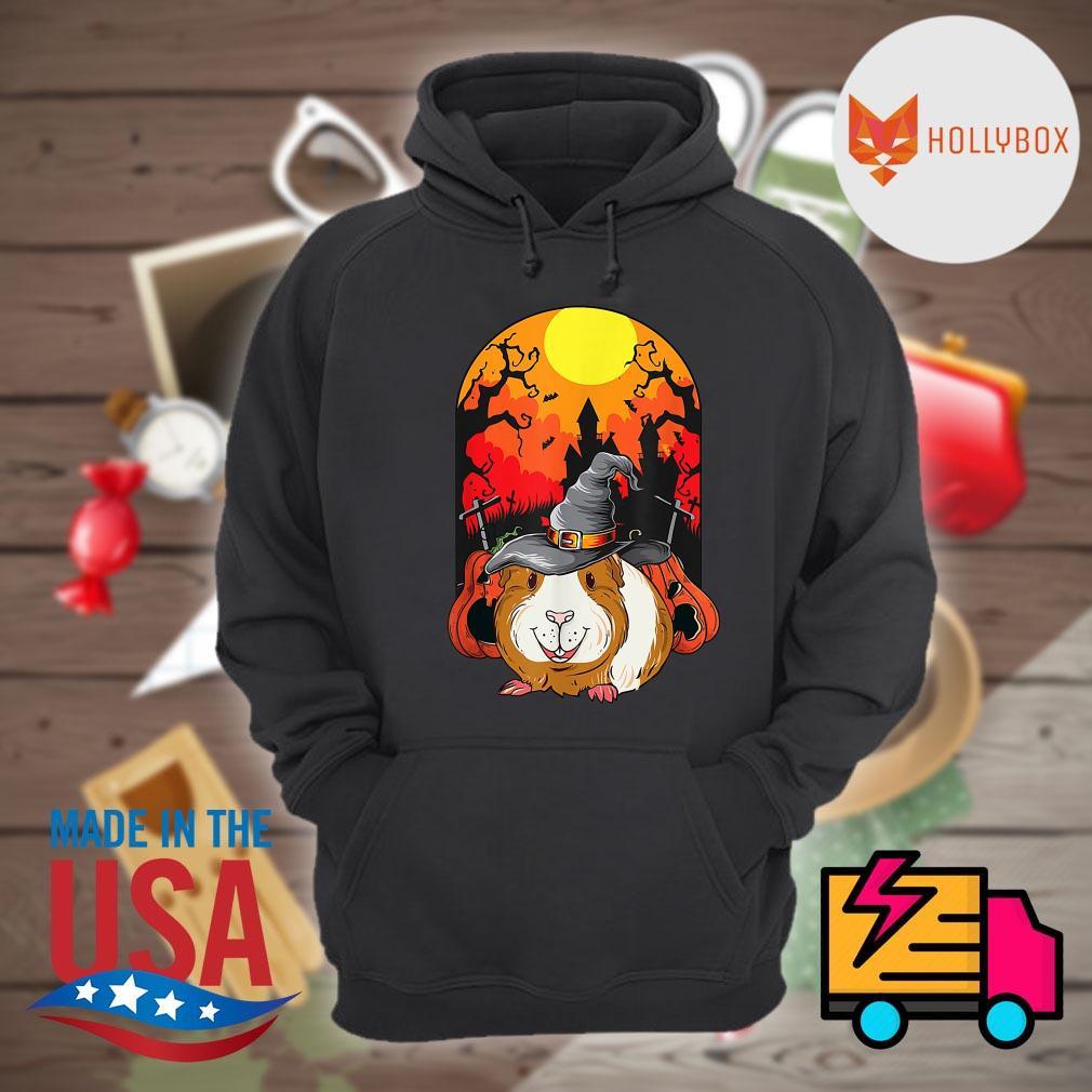 Guinea Pig Witch Halloween s Hoodie