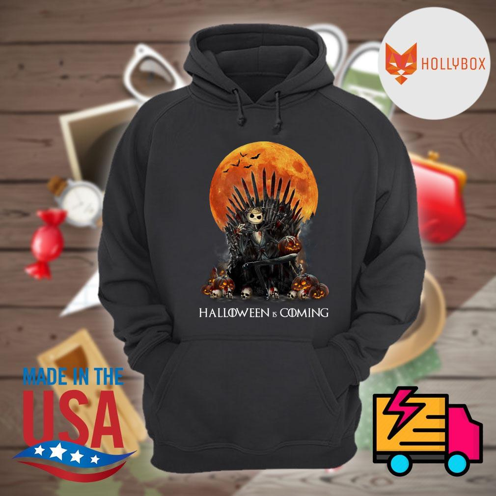 Jack Skellington the King blood moon Halloween is coming s Hoodie