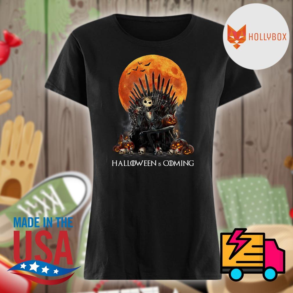 Jack Skellington the King blood moon Halloween is coming s V-neck