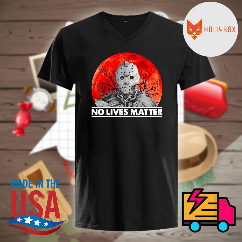 Jason Voorhees no lives matter Halloween shirt