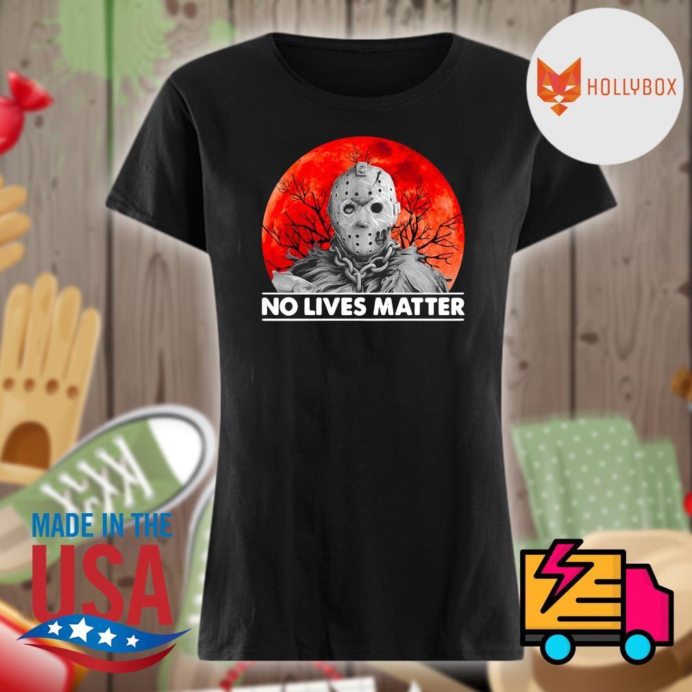 Jason Voorhees no lives matter Halloween s V-neck