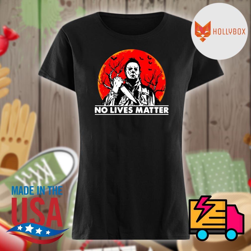 Michael Myers no lives matter Halloween s V-neck