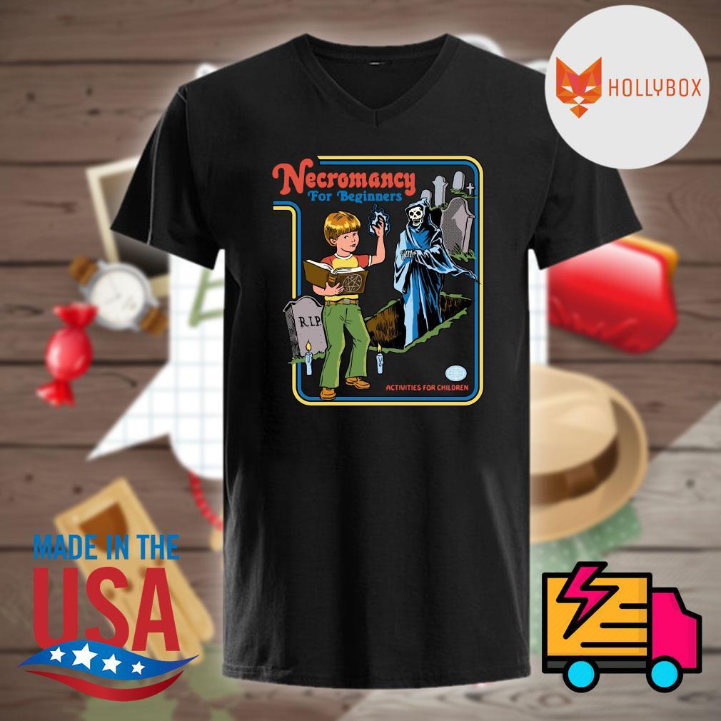 Necromancy for Beginners activities for children shirt