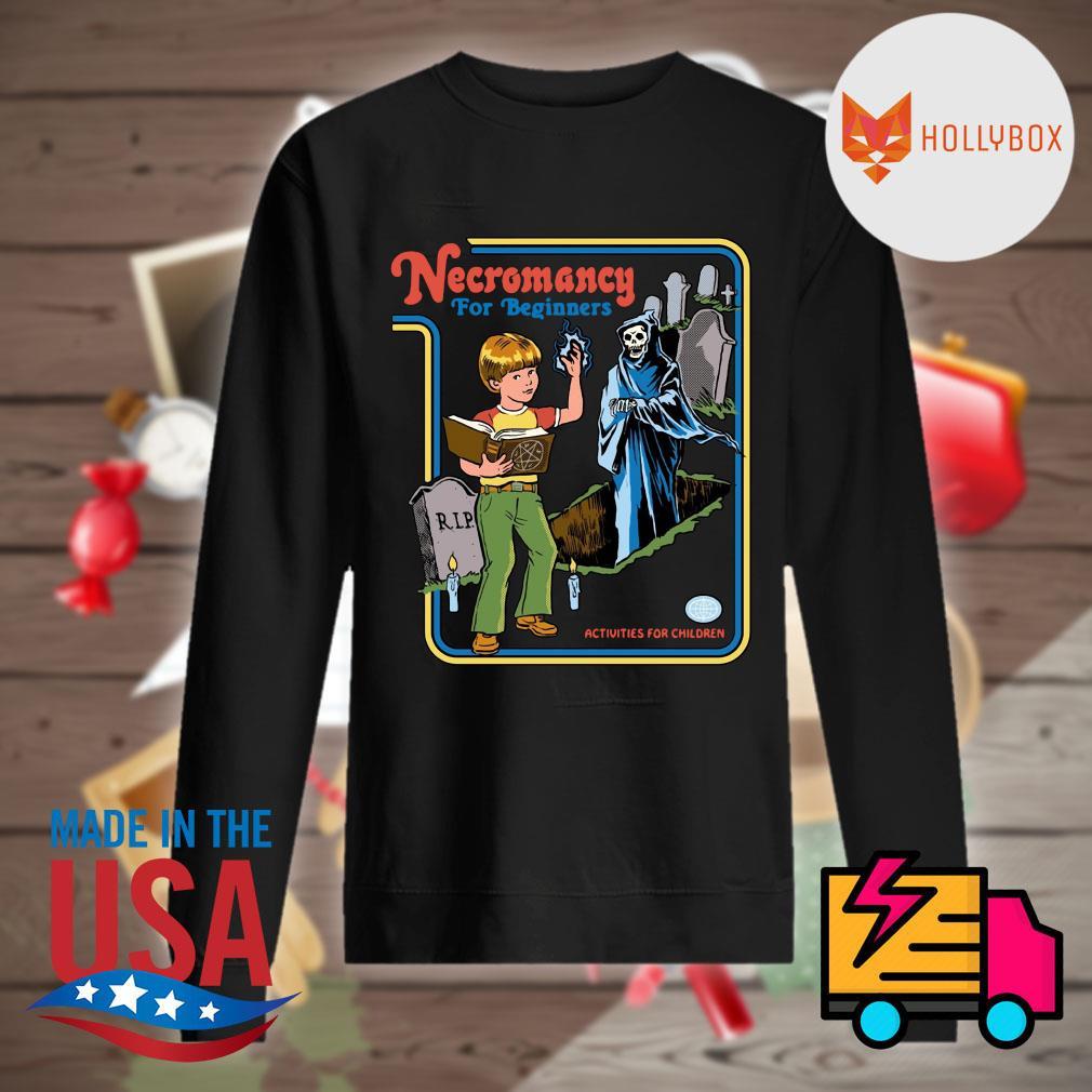 Necromancy for Beginners activities for children s Sweater
