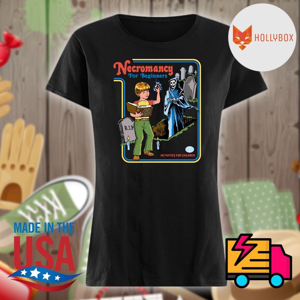 Necromancy for Beginners activities for children s V-neck