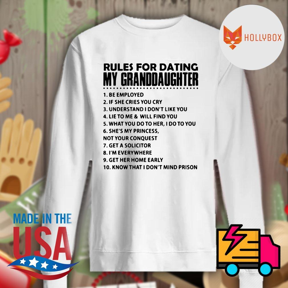 10 Rules for dating my granddaughter s Sweater