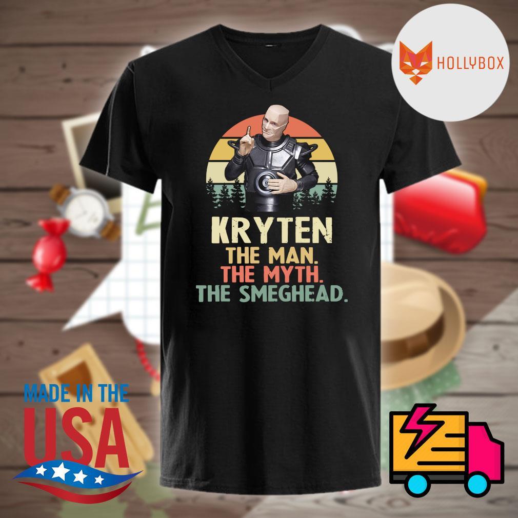 Kryten the man the myth the smeghead vintage shirt