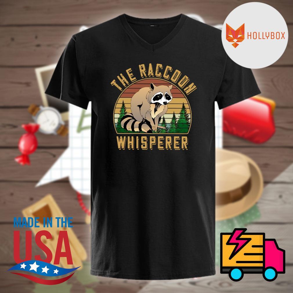 The Raccoon whisperer vintage shirt