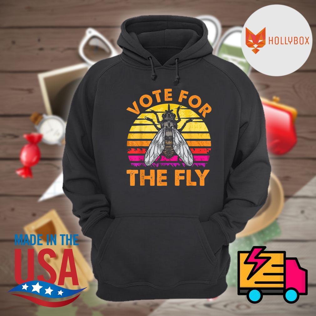 Vote for the fly Trump 2020 vintage s Hoodie