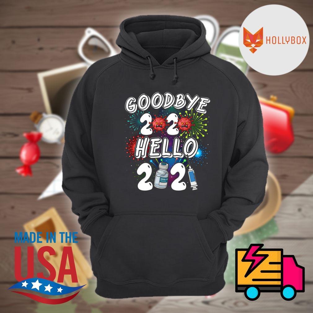 Coronavirus Goodbye 2020 hello 2021 s Hoodie