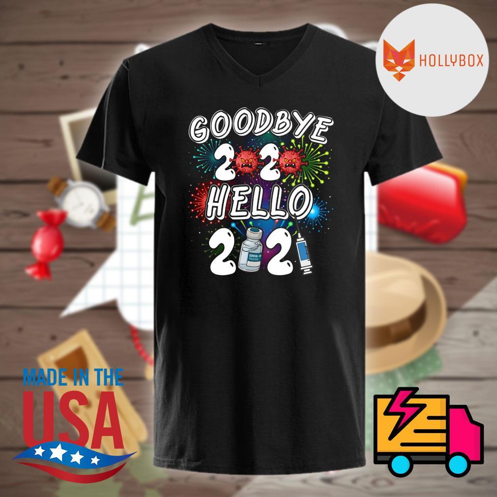 Coronavirus Goodbye 2020 hello 2021 shirt