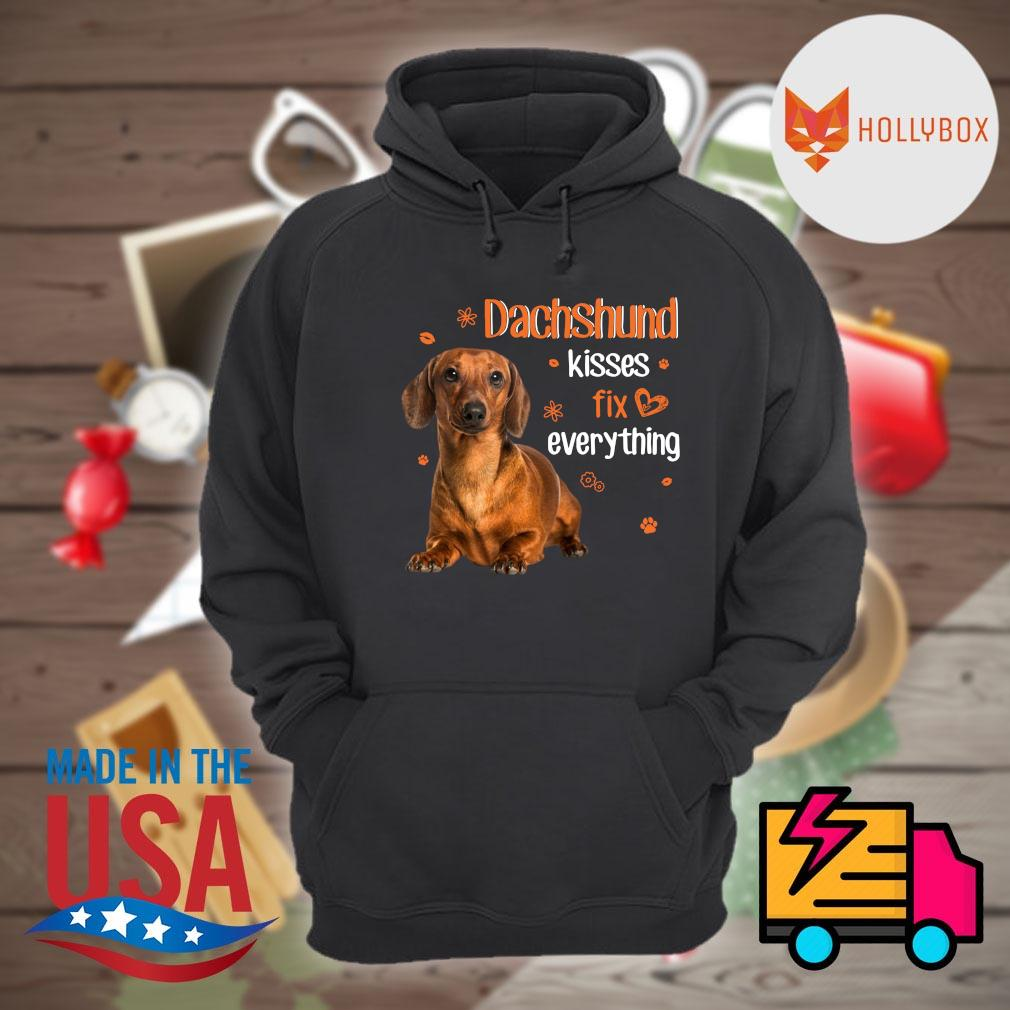 Dachshund kisses fix everything s Hoodie