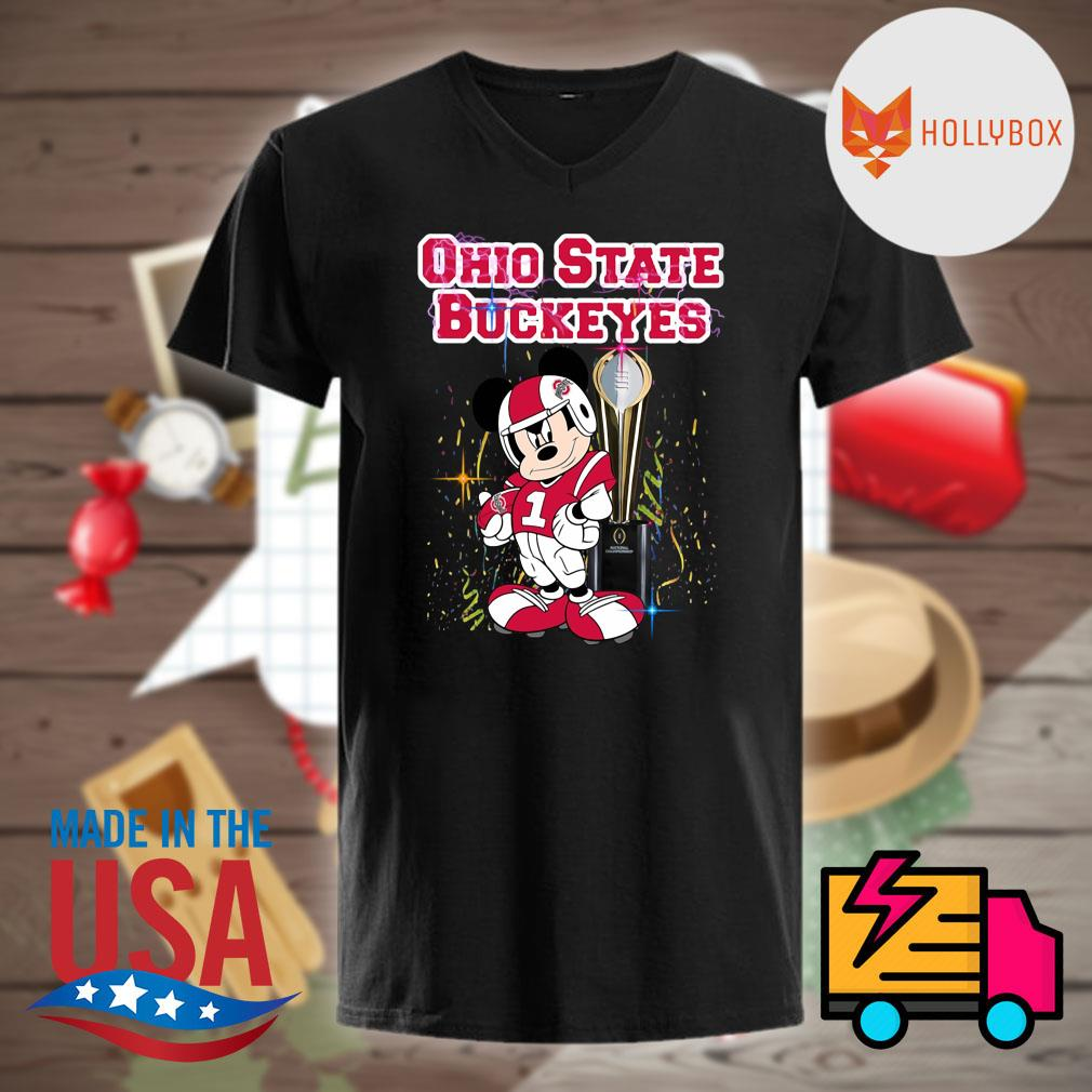 Mickey mouse CFP National Championship Ohio State Buckeyes shirt