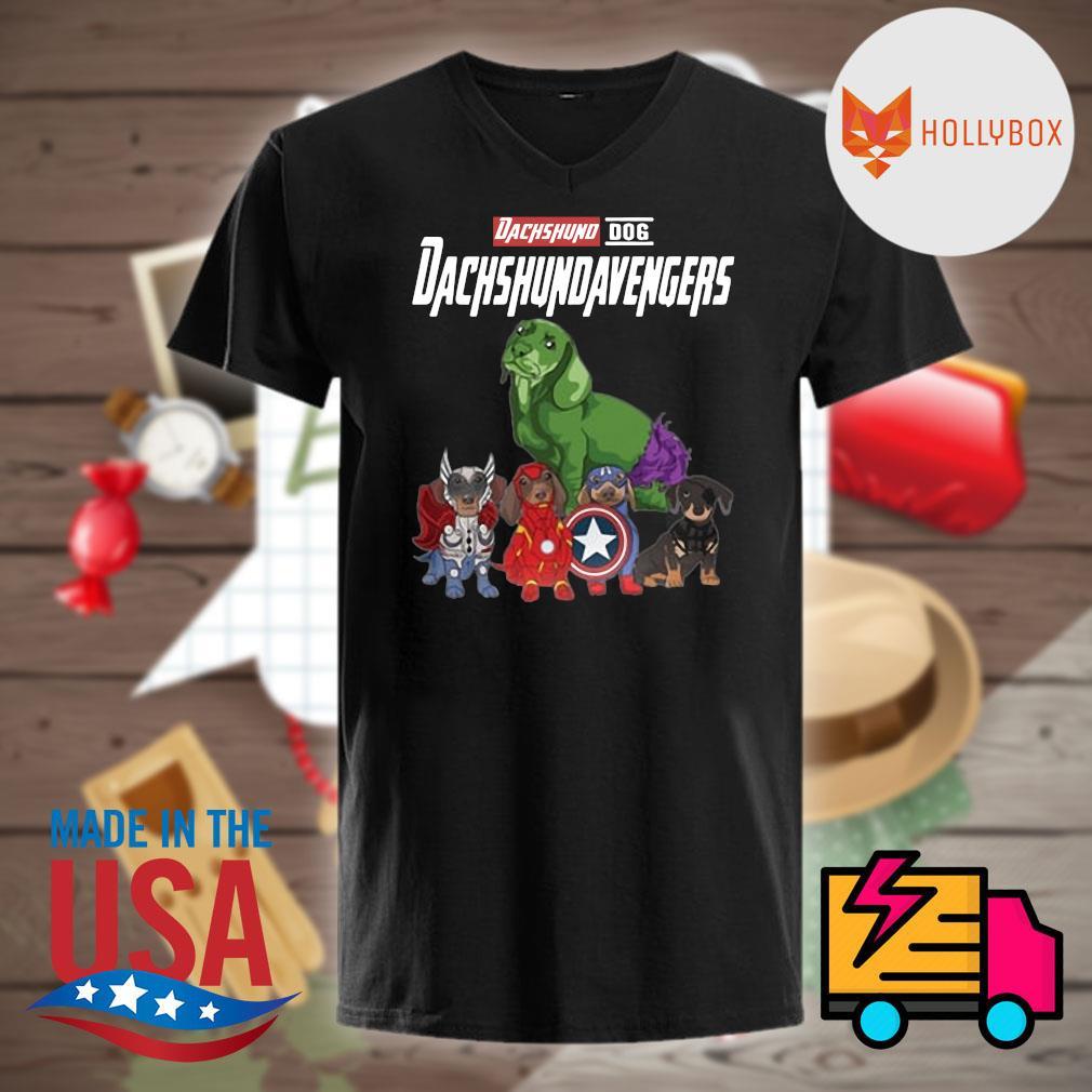 Dachshund dog DachshundAvengers shirt