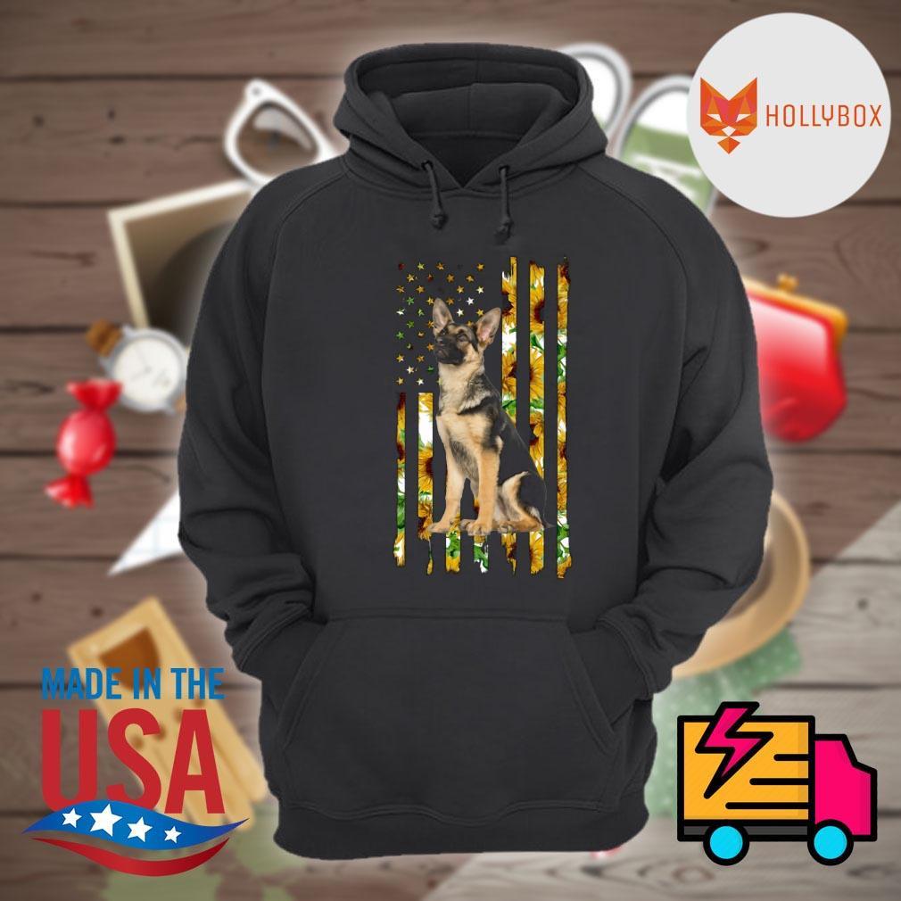 German Shepherd sunflower s Hoodie